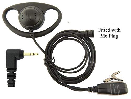 Motorola Auricular Micrófono y Ptt para Tklr T60 T61 T80 Extreme T92 X 1