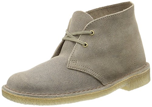 Clarks Originals Women's Desert Lace-Up Boot,Taupe,10 M US