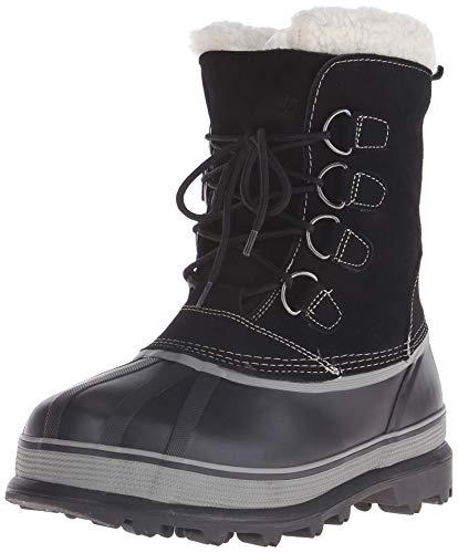 Northside Men's Back Country Winter Boot (42 M EU / 9 D(M) US, Black)