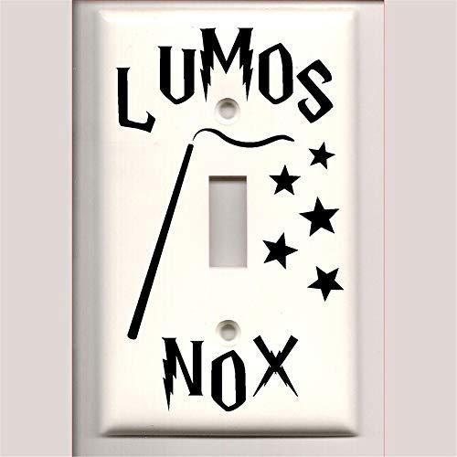 Lumos Nox DECAL ONLY Light Switch Decal Wheeler3Designs 6165608