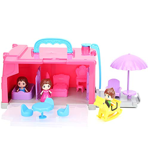 Pretend Play Portable Indoor Assembled Toys, Play Tent, for Children Girls(T014)
