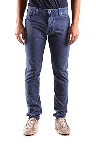 Luxury Fashion | Jacob Cohen Heren MCBI31452 Donkerblauw Katoen Jeans | Seizoen Outlet