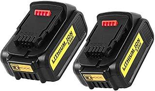 Sponsored Ad – MANUFER 2 Pack 5.0Ah 20V MAX XR Li-ion Replacement Battery for Dewalt DCB200 DCB180 DCB181 DCB182 DCB184 DC...