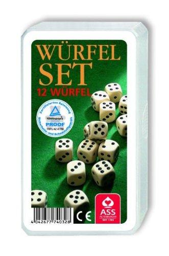 ASS Altenburger Spielkarten Würfel - 12 Stück im Set