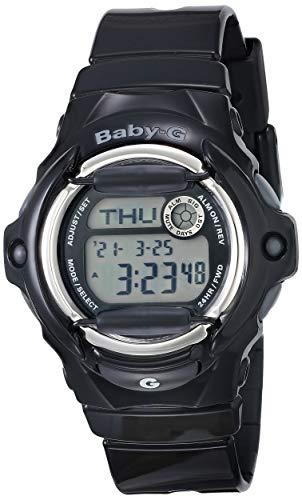Casio Women's Baby G Quartz Watch with Resin Strap, Black, 23.4 (Model: BG-169R-1M)