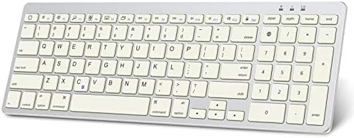 OMOTON Keyboard for iPad Ultra Slim Wireless Bluetooth Keyboard with Numeric Keypad for iPad product image