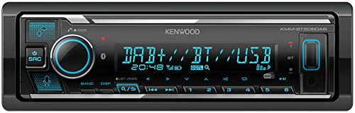 Kenwood KMM-BT506DAB Digital Media Receiver with Bluetooth & DAB+ built-in, Spotify & Amazon Alexa ready