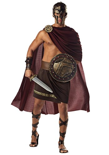 California Costumes Costume de Gladiateur Spartan