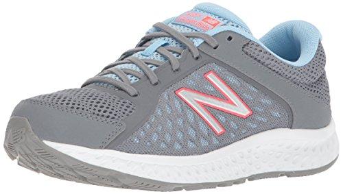 New Balance W420v4, Scarpe Running Donna, Grigio (Grey/Blue), 38 EU