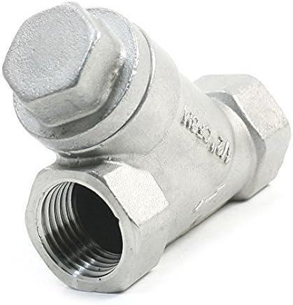eDealMax Agua Limpia 1/2 Dia del Hilo metálico Tipo reemplazo Rejillas One Way Y