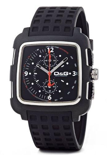D&G Dolce&Gabbana Herren-Armbanduhr Silikonband