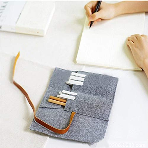 Pencil case cartoon animal pencil case school canvas roll bag cosmetic brush storage pencil case children gift painting deliveries.