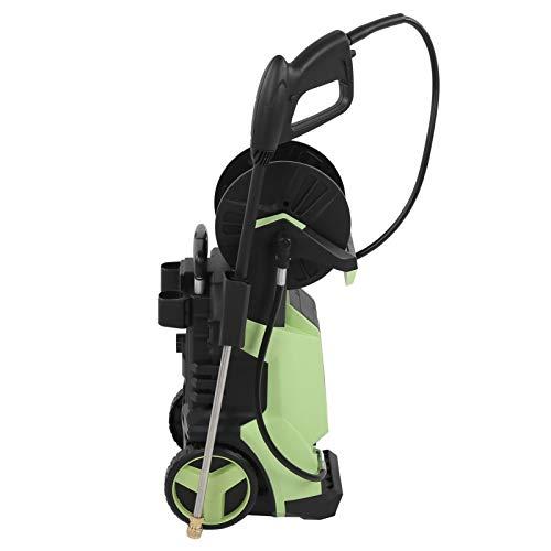 lyrlody- Limpiador de alta presión, 5,5 L – 7,5 L/min, manguera de alta presión, pantalla táctil, pantalla digital, para trabajos de limpieza como vidrio/vehículos (220 V)