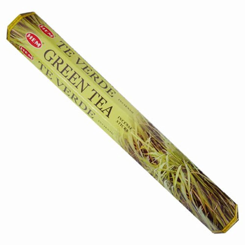 試用南極主HEM(ヘム) スティックお香/六角香/ヘキサパック GREEN TEA(グリーンティー)