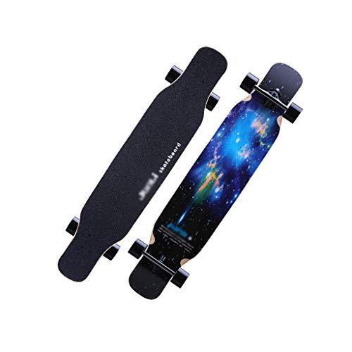 LIUFS-Patineta Brush Street Long Board Skateboard...