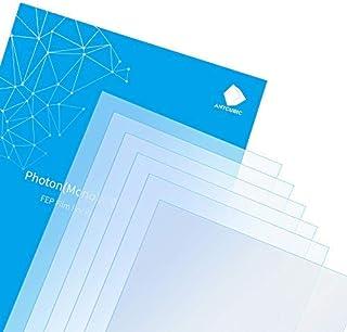 ANYCUBIC 5 PCS 8,9 '' Película FEP, 260 x 175 x 0,15 mm Lámina de Repuesto de Película de Teflón para Impresora 3D de Resi...