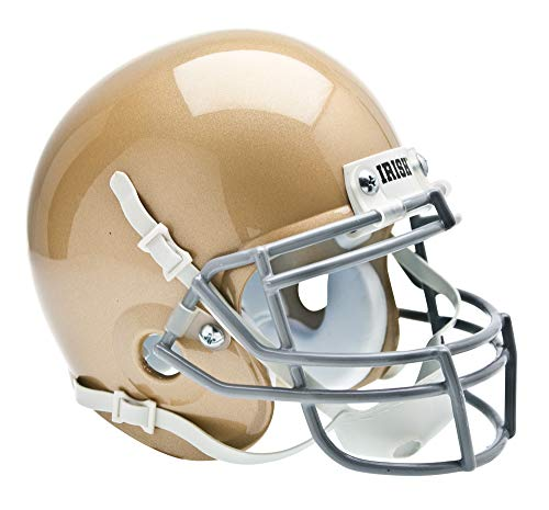 Schutt NCAA Notre Dame Fighting Irish Mini Authentic XP Football Helmet, Classic