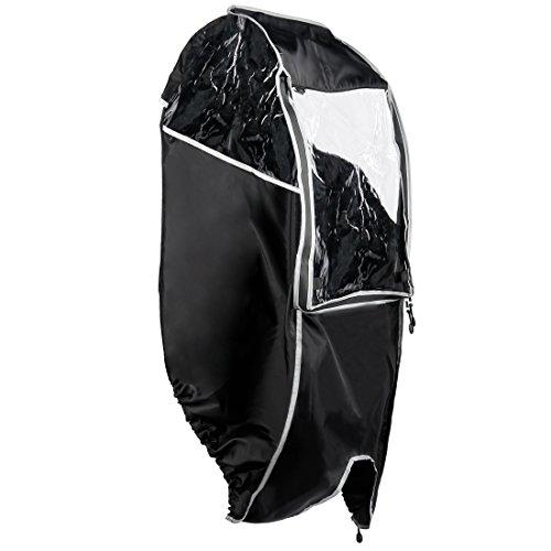 【Amazon限定ブランド】ウルトラスポーツ 子供乗せ自転車チャイルドシート レインカバー 防水加工 (収納バッグ付き)