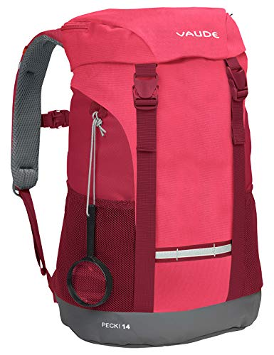 Vaude Kinder Rucksäcke10-14L Pecki 14, Bright Pink, One Size, 12457