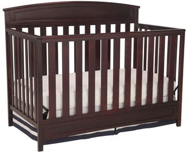 三角洲儿童萨顿 4 合 1 可转换婴儿床咖啡