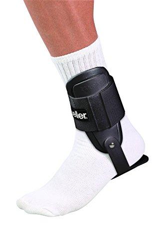 Mueller Knöchelschutz-Bandage Lite, Einheitsgrösse, schwarz