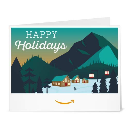 Amazon Gift Card - Print - Holiday Mountain