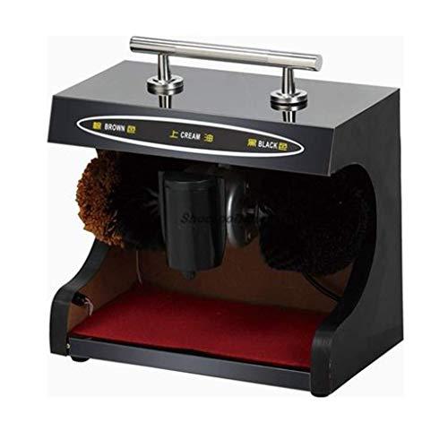 FHKBK Schuhpoliermaschine Automatischer Induktions-Schuhpolierer mit Handarmlehne Edelstahl-Trittbrett mit automatischer Messsonde Geeignet für Verschiedene Orte