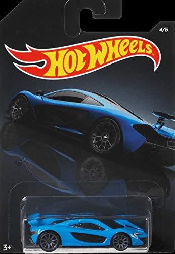 2020 Hotwheels Walmart Exclusive Exotics Mix Series Blue McLaren P1