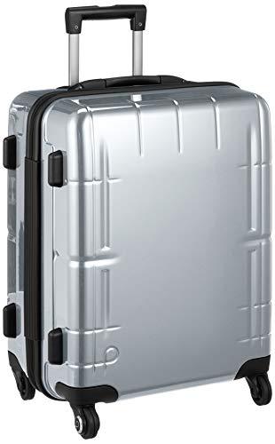 [プロテカ] スーツケース 日本製 スタリアVs ストッパー付 ベアロンホイール 53L 51 cm 3.7kg ダークシルバー