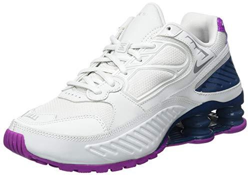Nike BQ9001-009, Running Shoe Mujer, Photon Dust/Reflect Silver-Valerian Blue, 38 EU