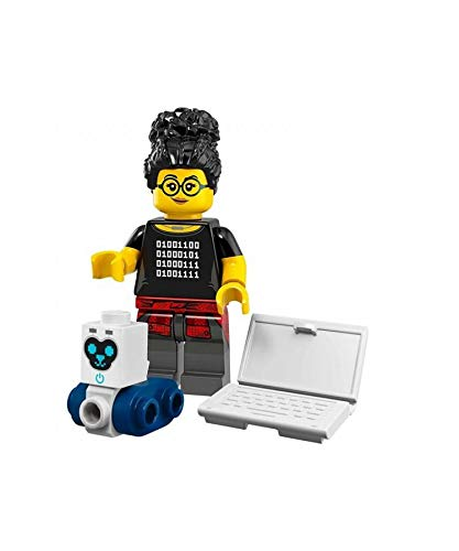 Mini Figur Lego Serie 19 71025 #5 Lady Programmer