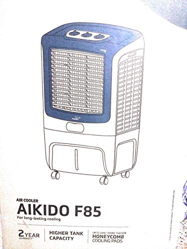 V-Guard AIKIDO F85 85L Desert Air Cooler, White (With UPTO...