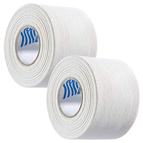 McDavid Zinc Oxide Two Pack 10-Yard Rolls Athletic Tape, White