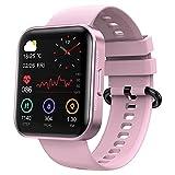 KOSPET MAGIC 3 Smartwatch, 1.71 Zoll Touch-Farbdisplay Fitness Armbanduhr mit Pulsuhr Fitness Tracker IP68 Wasserdicht Sportuhr Smart Watch mit Schrittzähler,Schlafmonitor,Stoppuhr für Damen Herren