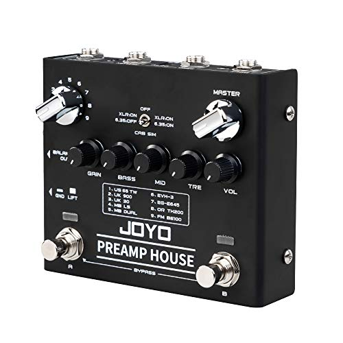 JOYO Preamp House R-15 R Series Dual Channel Preamp Simulator Cabinet...