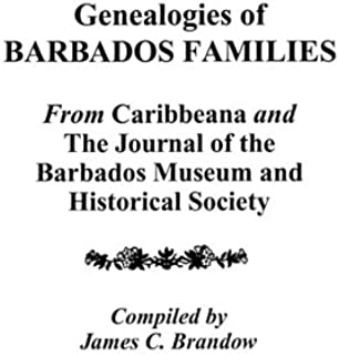 Genealogies of Barbados Families