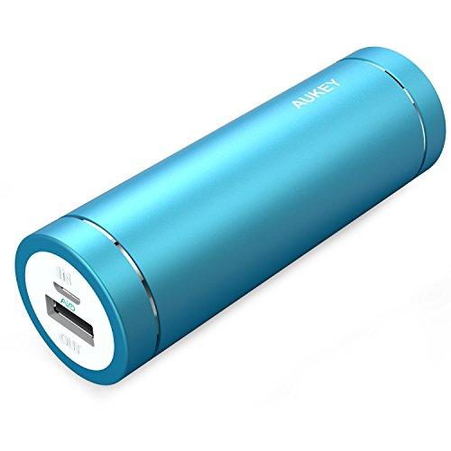 Aukey - Mini caricabatterie portatile, capacità: 5000 mAh