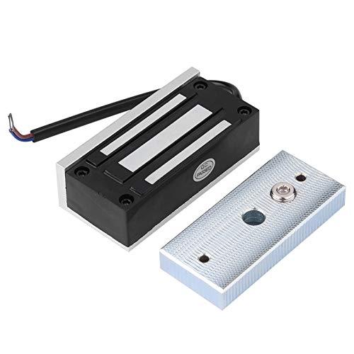 Jeanoko Cerradura de puerta electrónica, bajo consumo de energía, cerradura eléctrica, segura y duradera, 60 kg, tensión lineal para armarios de compras para puertas pequeñas