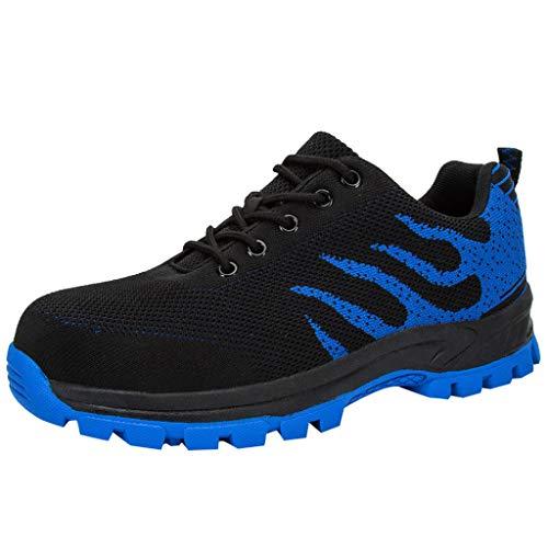 BoyYang Schuhe Herren Damen Laufschuhe Sneaker Straßenlaufschuhe Sportschuhe Turnschuhe Outdoor Leichtgewichts Freizeit Atmungsaktive Fitness Schuhe