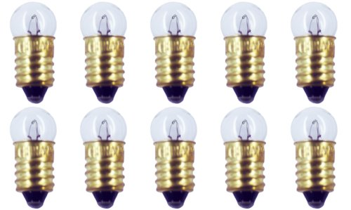 CEC Industries #1449 Bulbs, 14 V, 2.8 W, E10 Base, G-3.5 shape (Box of 10)