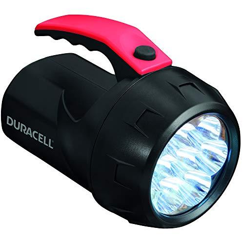 Duracell Flashlight, Explorer FLOATING LANTERN Series Linterna Linterna Linterna Linterna LED de 70 lúmenes, acabado de plástico negro, pilas Duracell incluidas (paquete de 1) (FLN-2)