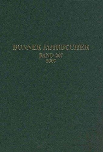 Bonner Jahrbücher Band 207, 2007