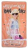 Barbie Serviette de bain de plage en coton 70 x 140 cm