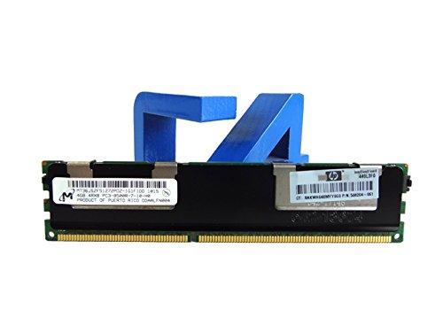 GiGARAM 500660-B21 4 GB HP Proliant PC3-8500 CL7 Registrado ECC DDR3-1066 240 pines DIMM 3rd Party