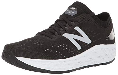 New Balance Women's Fresh Foam Vongo V4 Running Shoe, Black/Overcast, 8 M US