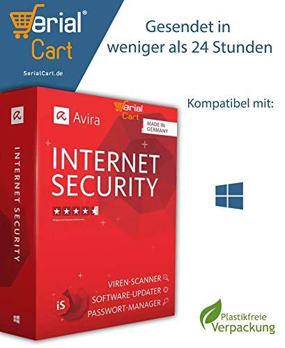 Avira Internet Security Suite 2020 | 3 Geräte / 1 Jahr | von SerialCart [per Post]