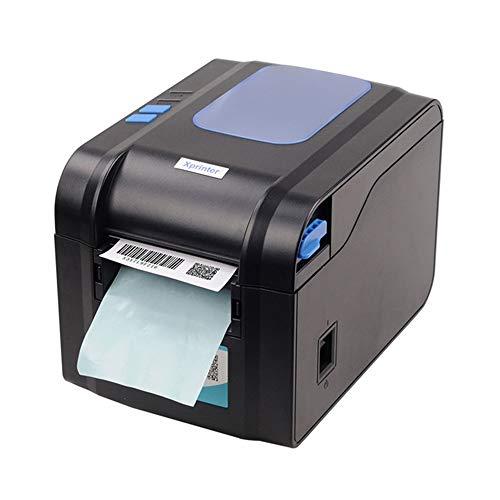 Label Barcode Drucker für Supermarkt Label Barcode Drucker 3 Zoll USB Port Direct Thermal Desktop Label Printer XP-370B