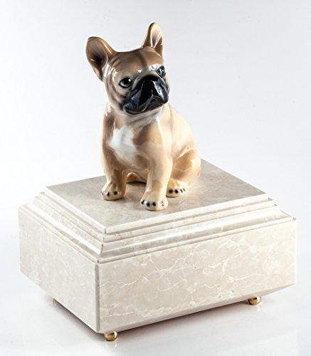 Marmor Urna Cineraria per Animali Bulldog Francese - aSilvy
