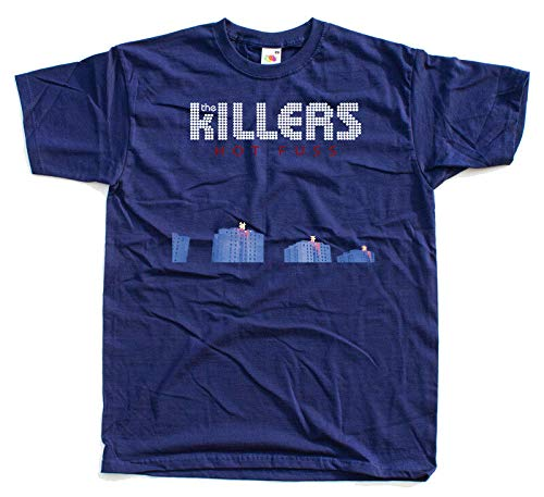 URGE The Killers - Hot Fuss, Album Cover, T-Shirt DTG (White Black Navy) S-5XL