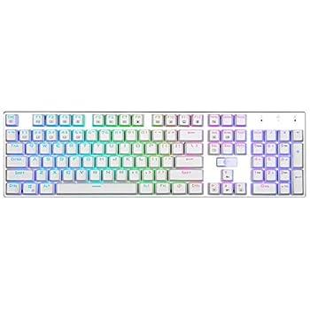 rgb brown switch keyboard